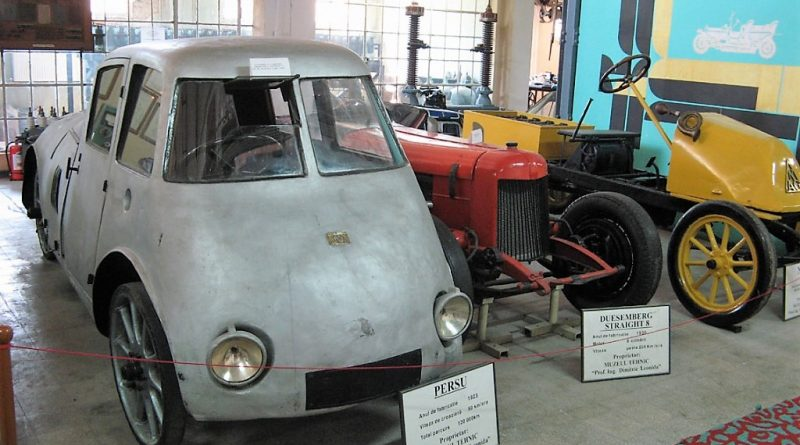 Mașină aerodinamică a fost inventată de un român