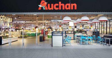 Auchan introduce un nou serviciu de livrare la domiciliu prin Uber Eats